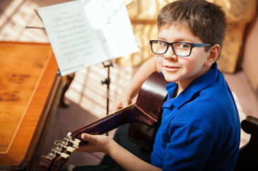 Being present and playing music as a family are just a couple ways parents can support their child and music therapy.