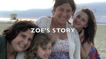 Zoe's Story Text and a Family